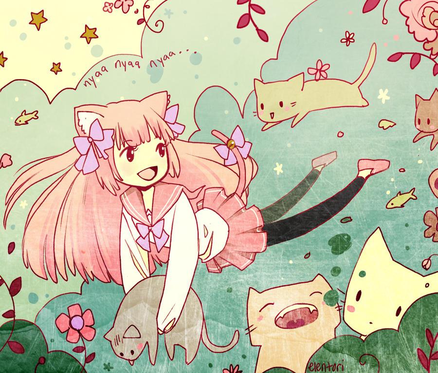 Kitten Hime by Elentori