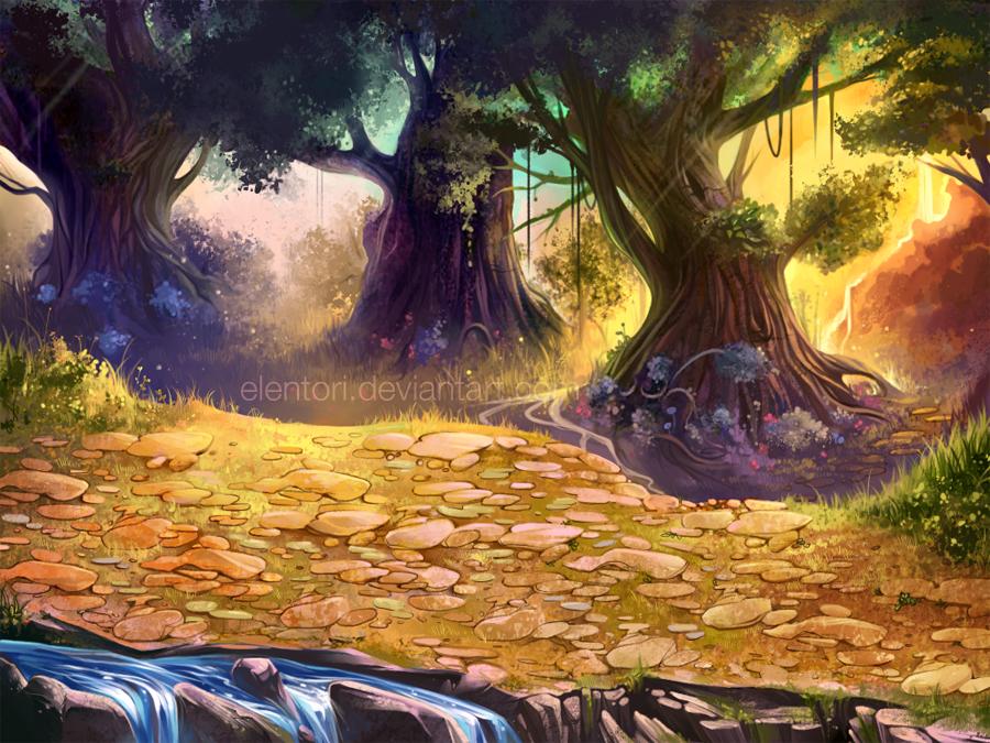 Game Background by Elentori