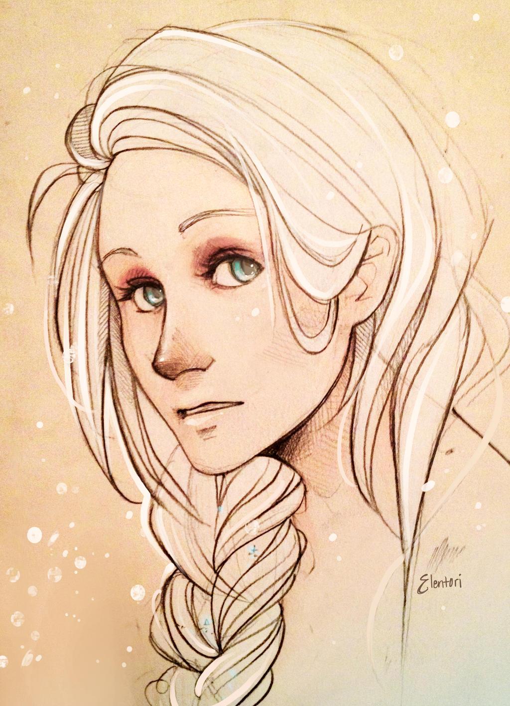 Elsa by Elentori