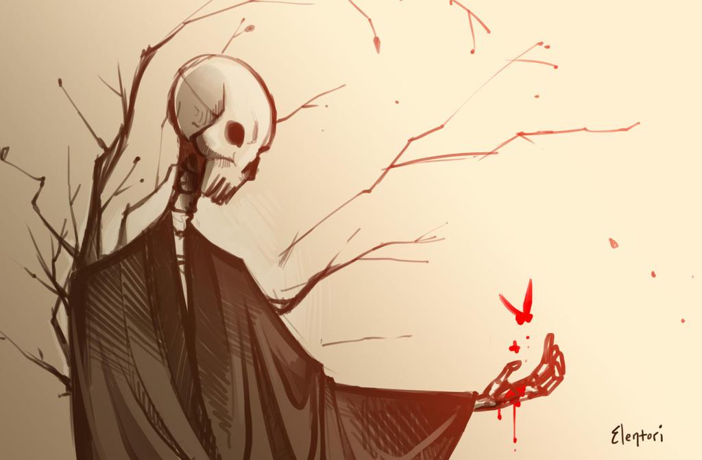 Beautiful Death by Elentori