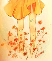 Flower Girl by Elentori