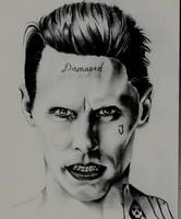 Joker- Suicide squad by Lisa4art