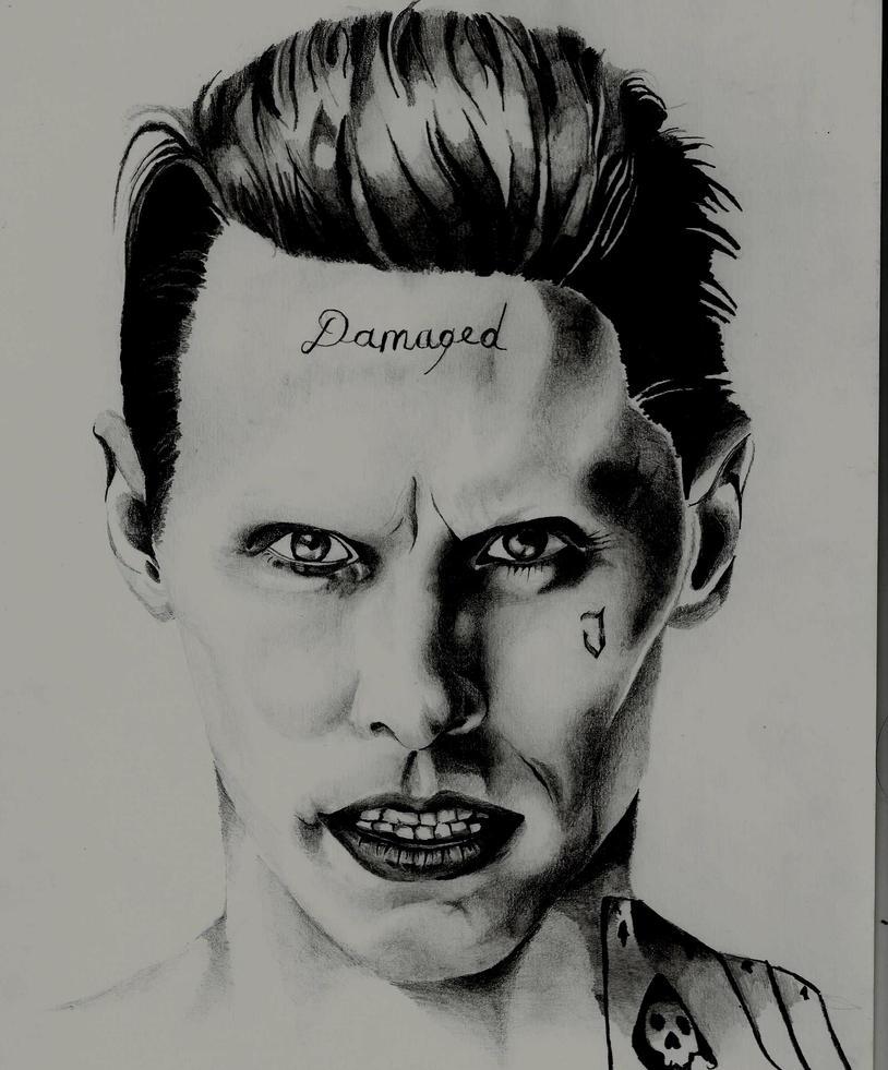 Joker- Suicide Squad By Lisa4art On DeviantArt