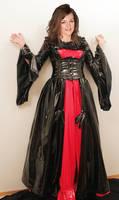 Anne Girouard pvc renaissance gown