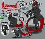 Demon baby Azazel