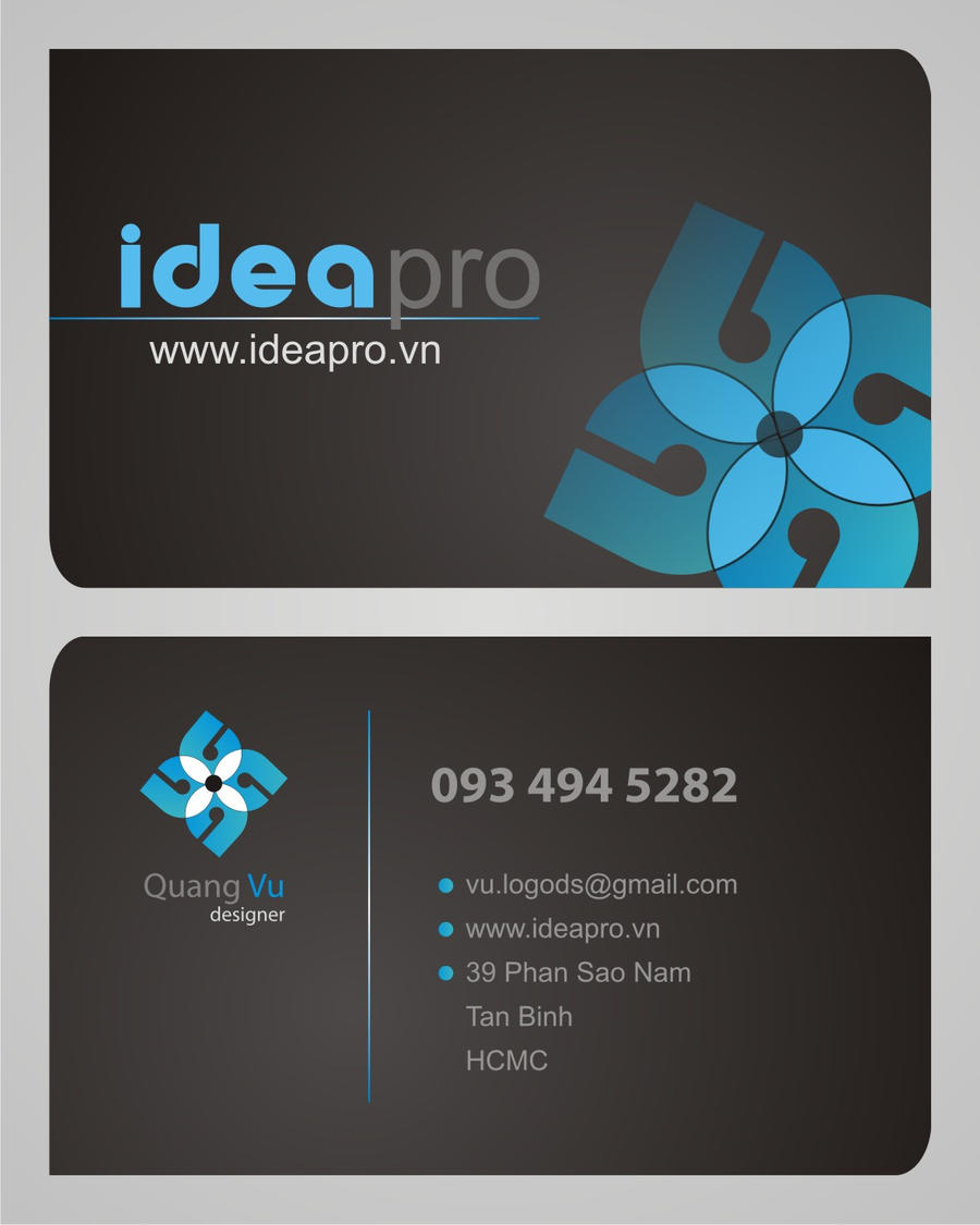 Name Card Design By Vugraphic On Deviantart