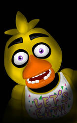 FNaF - Chica by EmilyG26