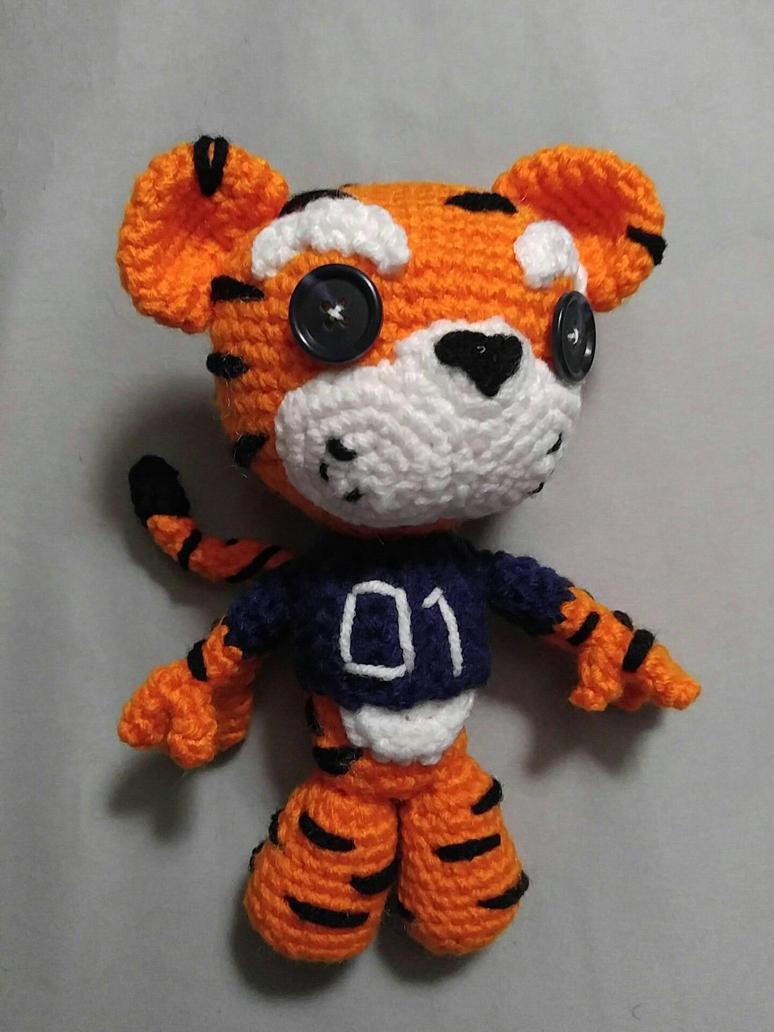 Aubie the tiger by mizukiiuchiha