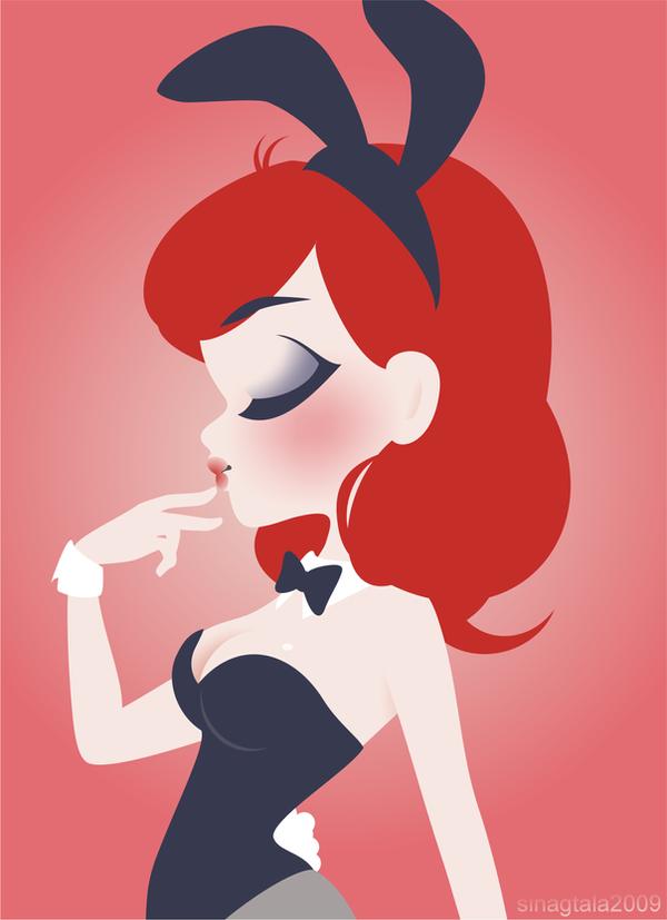 Playboy bunny by sinagtala on deviantart playboy bunny by sinagtala voltagebd Images