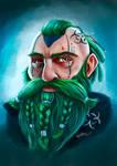 Shadowrun Cyberpunk Dwarf