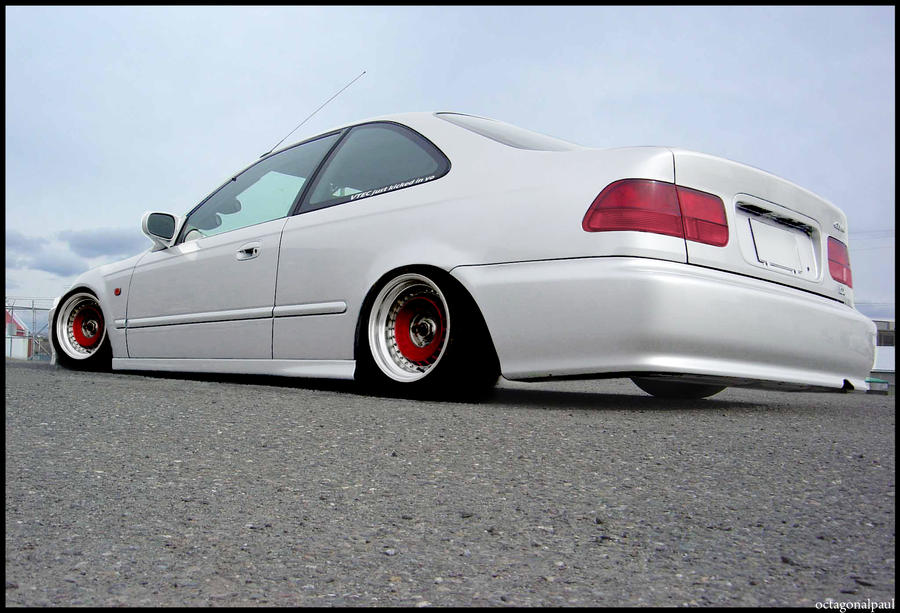 Slammed Civic By Octagonalpaul On Deviantart