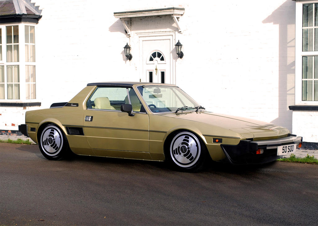 Fiat X19 Retro By Octagonalpaul On Deviantart