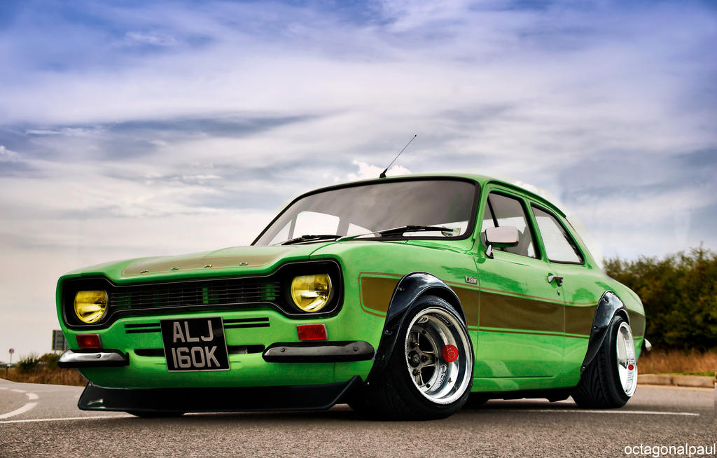 Ford Escort Mk1 - Shakotan by octagonalpaul on DeviantArt