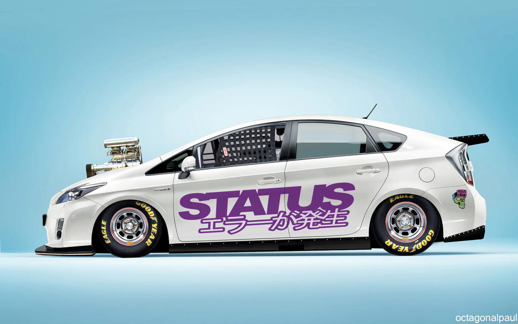 Toyota Prius : Drag Edition by octagonalpaul on DeviantArt