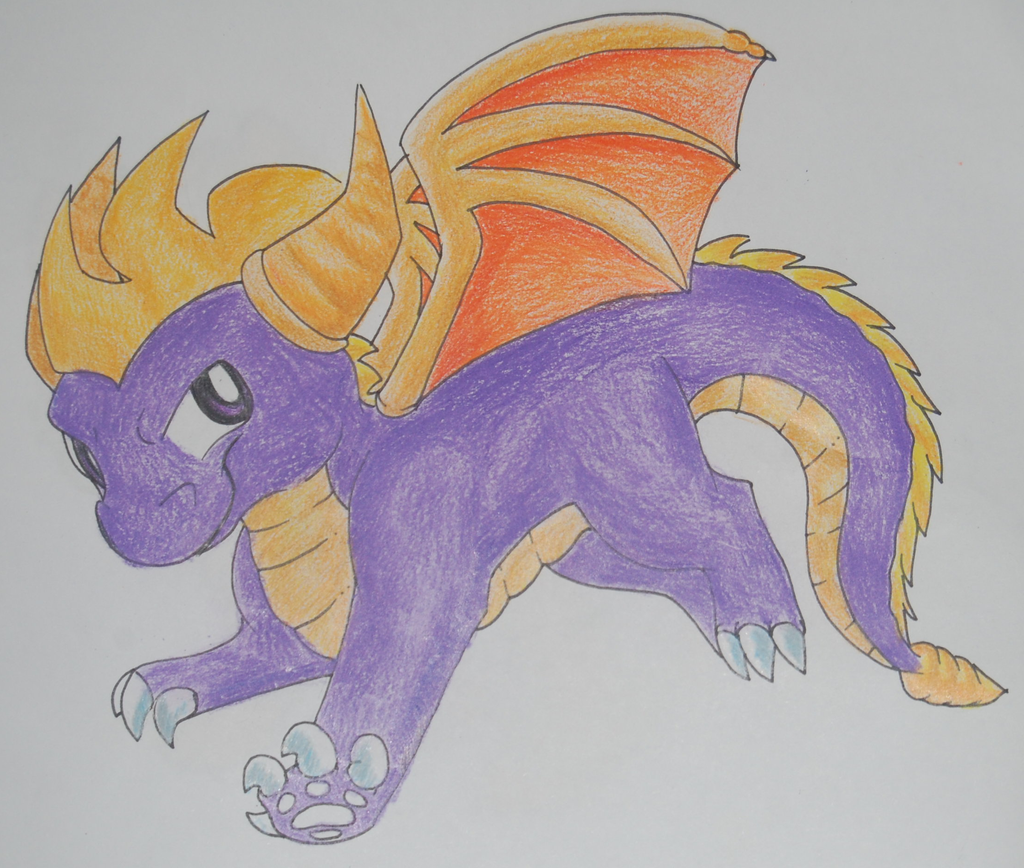 Spyro by RegallyFlawed