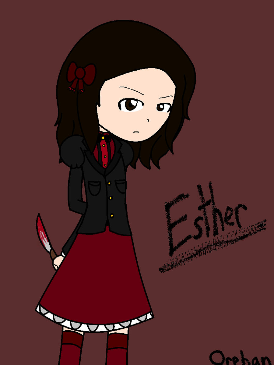 Orphan::Esther Coleman by Otaku-Mookers on DeviantArt