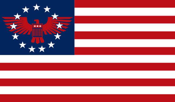 2nd Civil War Union Flag