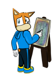 Alpha The Artist by SkippyP008