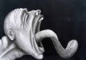 The Screamer by vanderh7