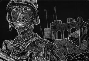 soldier by vanderh7
