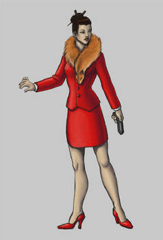 Character/Costume design2: Business Woman