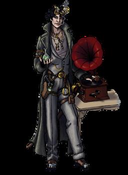 Character/Costume design3: steampunk sherlock
