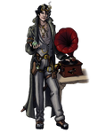 Character/Costume design3: steampunk sherlock by EricaLange