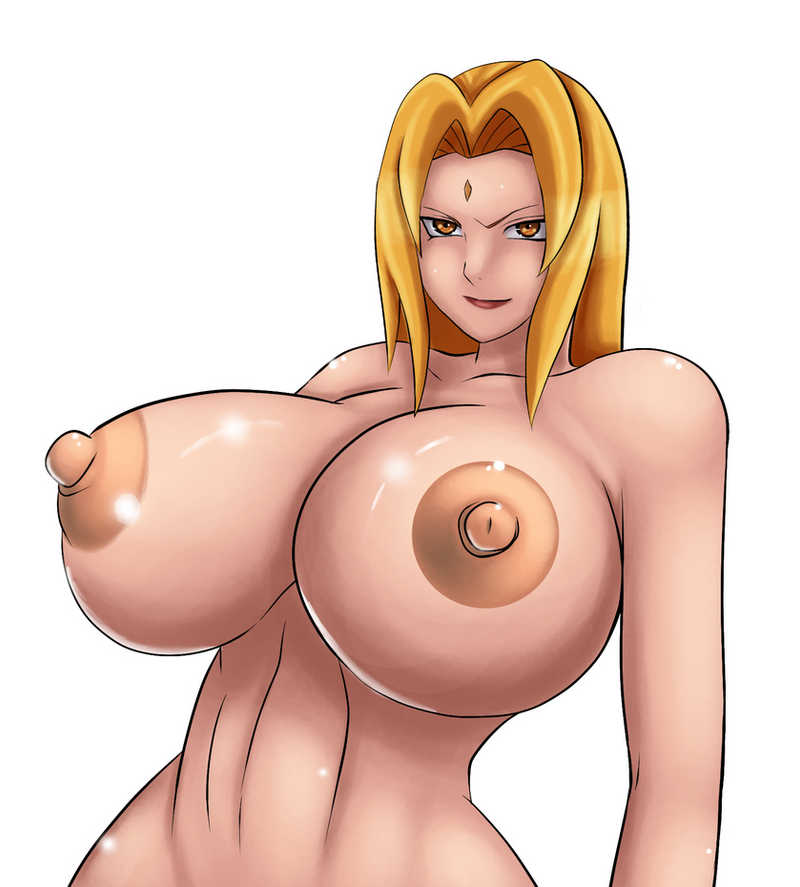 Tsunade by  zetarok color trainning by tisinrei
