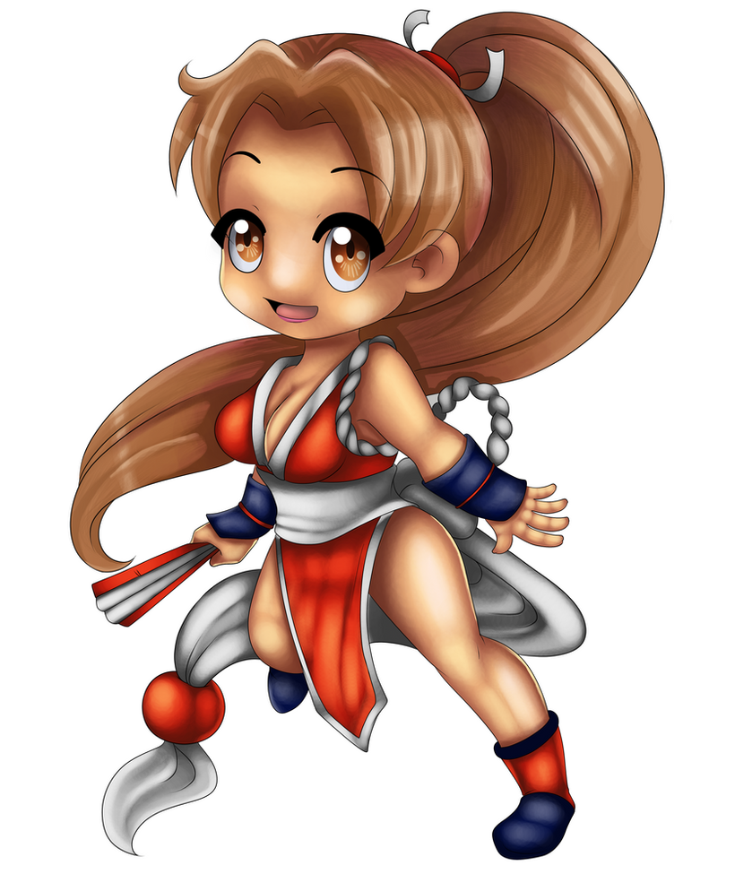 Mai Shiranui by chairim by tisinrei