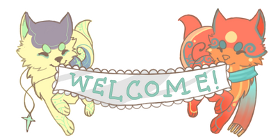 Welcome Banner by naraie