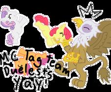 Tag Team Duel by Wolferahm