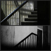 Shadow on the stairs in collab by Mavali