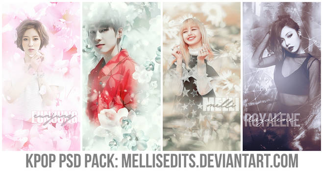 [SHARE] KPOP PSD PACK #1 - MELLISEDITS by MellisEdits