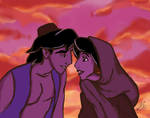 When he discovers in her eyes a whole new world