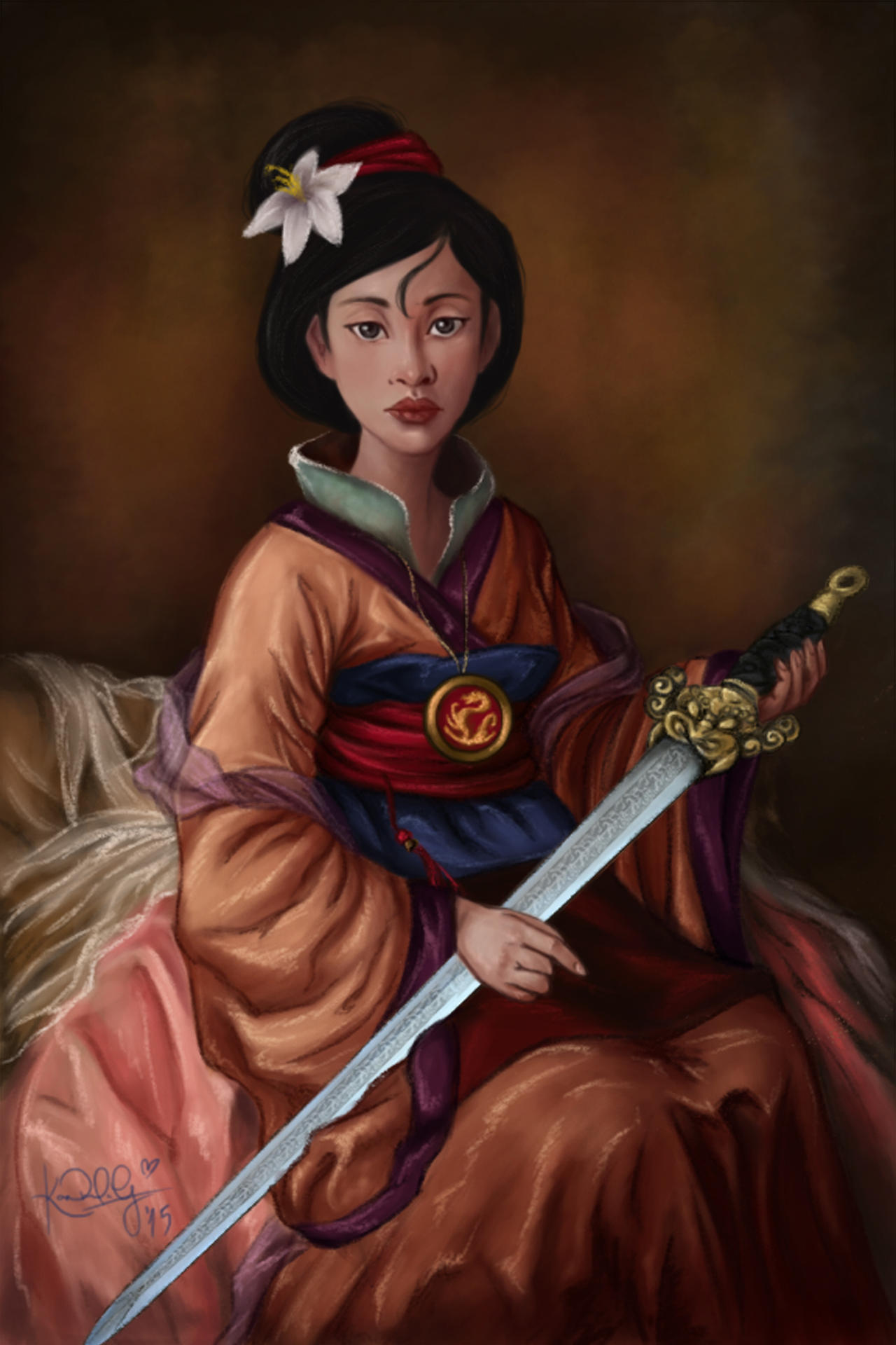 Blossom Tv Show Fa Mulan by TottieWood...