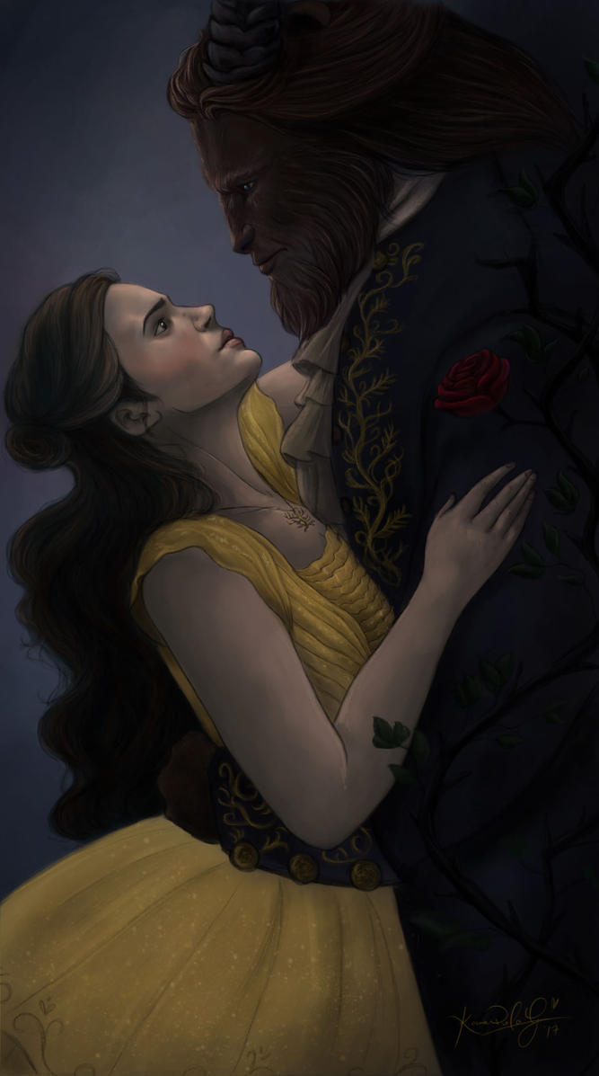 Beauty and The Beast by TottieWoodstock