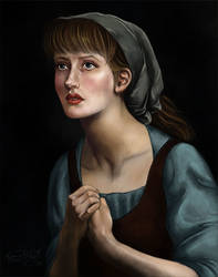 Cinder Girl by TottieWoodstock