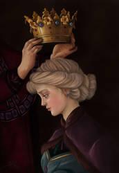 Coronation of Queen Elsa Of Arendelle by TottieWoodstock