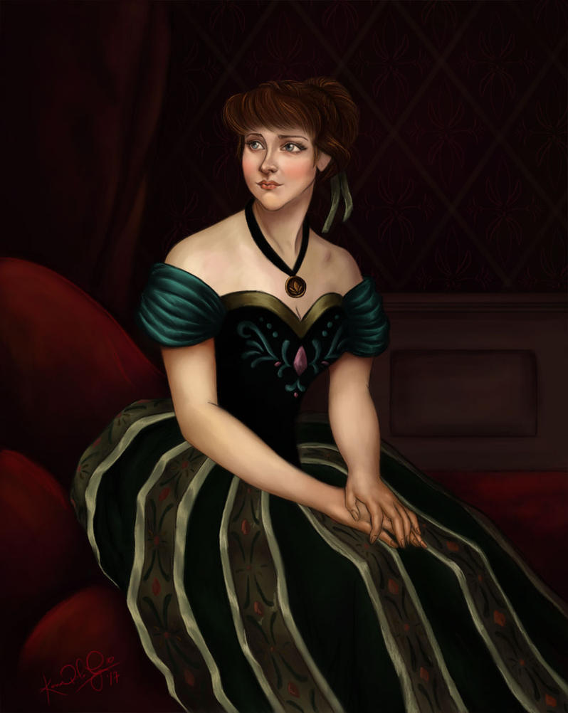 Princess Anna of Arendelle by TottieWoodstock