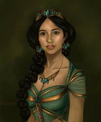 Princess Jasmine (Naomi Scott) by TottieWoodstock