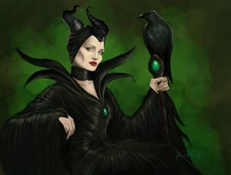 Maleficent by TottieWoodstock