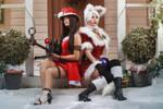 Christmas Ahri and Caitlyn