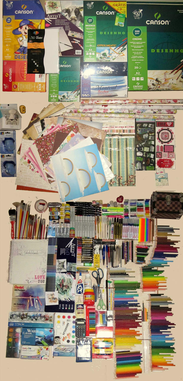 Life of An Artist pt2:Paper,Scrapbook,Art Material by Gwendolyn12