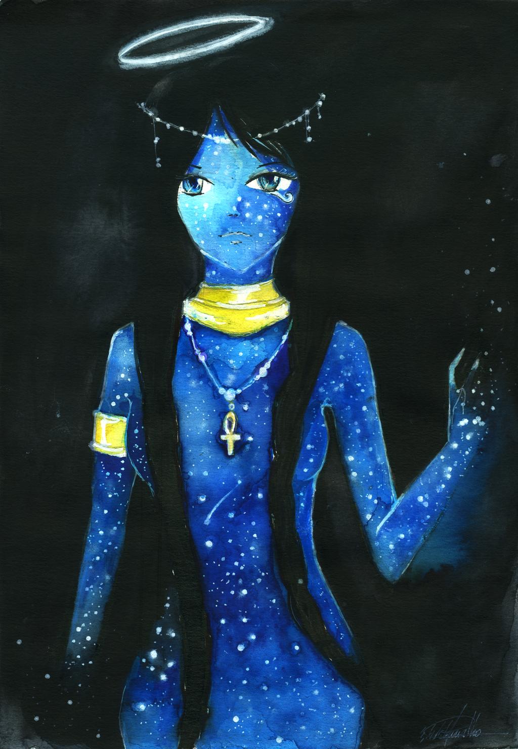 Nut, Egyptian Goddess of the Sky - 2276.8KB