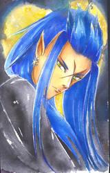 Saix, The Luna Diviner by VelCake
