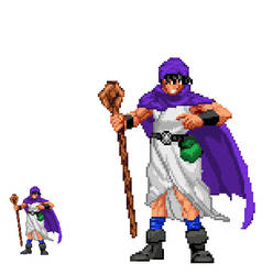 Dragon Quest V Hero Sprite Edit