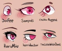 Eye style challenge by Joifee