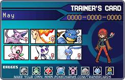 Pokemon Trainer Card by Misfortune09