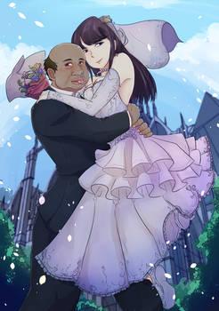 Komi-san and Ugly Bastard get Married