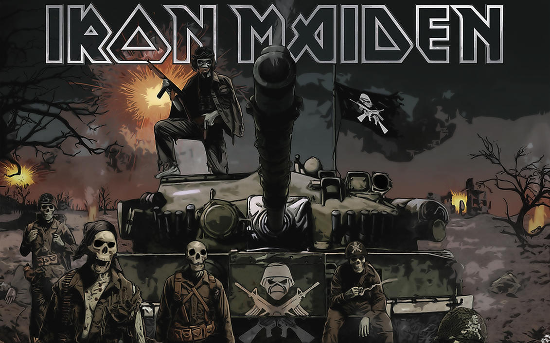 iron maiden wallpaperlyhil on deviantart